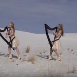 Enter Sandman reinterpretata la harpa