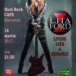 Concertul Litei Ford s-a mutat la Hard Rock Cafe