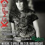 Poze de la concertul KEMPES de la Hard Rock Cafe