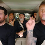 Metallica invitata in noul episod al seriei 'Carpool Karaoke'