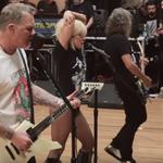 Cum a fost repetitia dintre Metallica si Lady Gaga?