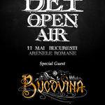 BUCOVINA anunta primii invitati la DET Open Air 2018