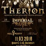Program si reguli de acces la concertele Therion, Null Positiv, Imperial Age & The Devil