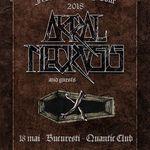 Mercy's Dirge si Vathos canta alaturi de Akral Necrosis pe 18 mai in Quantic Club