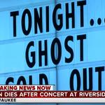 Un fan a murit in timpul unui concert Ghost
