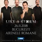 Like a Storm deschid showul Godsmack de la Bucuresti!