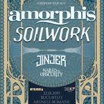 Poze de la concertul Amorphis