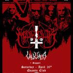 Attic vor canta alaturi de Marduk si Valkyrja in Quantic