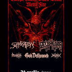 Suffocation, Belphegor si God Dethroned in /FORM Space: Program si reguli de acces