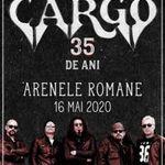 Cargo 35 de ani - Show Aniversar la Arenele Romane pe 16 mai