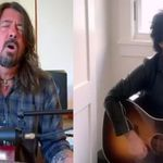 Billie Joe Armstrong si Dave Grohl  aparitii in Concert For America
