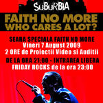 Seara speciala Faith No More pe 7 August in Suburbia