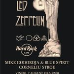 Concert tribut Led Zeppelin la Hard Rock Cafe