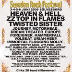 Trupele participante la Sweden Rock amendate pentru ca au cantat...prea tare