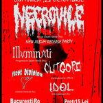 Necrovile lanseaza noul album si in Bucuresti