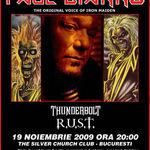 Ce cred R/U.S.T despre sarcina de a deschide concertul lui Paul Di'Anno (ex-Iron Maiden) la Bucuresti?