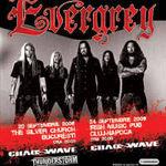 Evergrey si  Chaoswave concerteaza diseara la Cluj-Napoca