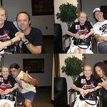 Cea mai batrana fana Metallica si-a intalnit in sfarsit idolii (foto)