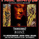 Expira oferta promotionala pentru concertul Paul Di' Anno (ex-Iron Maiden) din Bucuresti