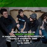 Pistol cu Capse in concert astazi la Violenza Domestica cu Hefe