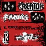Haos la un concert Exodus in Venezuela (video)