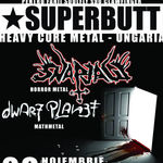 Superbutt, Snapjaw si Dwarf Planet concerteaza in Suburbia