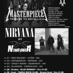 Dublul tribut Metallica - Nirvana incepe din 21 Octombrie