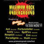 Noi detalii despre concursul Maximum Rock - Suport Pentru Underground