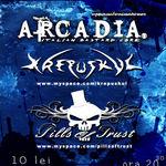 Arcadia si Krepuskul concerteaza la Cluj-Napoca