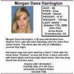 Peste 360 de voluntari implicati in operatiunea de cautare in cazul Morgan Harrington