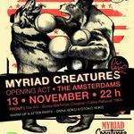 Myriad Creatures si The Amsterdams concerteaza la The Ark