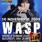 W.A.S.P. concerteaza diseara la Arenele Romane din Bucuresti!