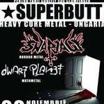 Superbutt, Snapjaw si Dwarf Planet concerteaza in aceasta vineri in Suburbia!
