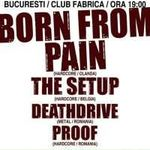 Spotul video al concertului Born From Pain la Bucuresti!