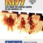 Kiss vor concerta in direct pe Facebook